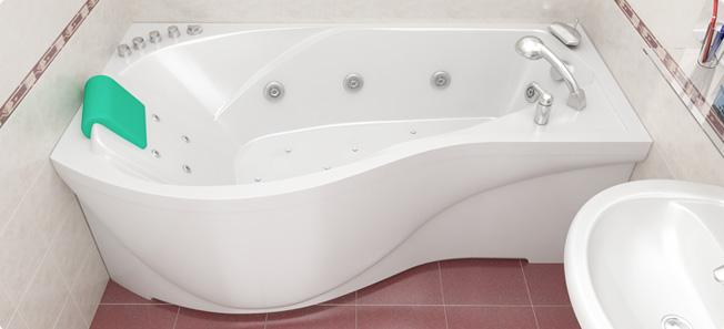 Виды ванн фото